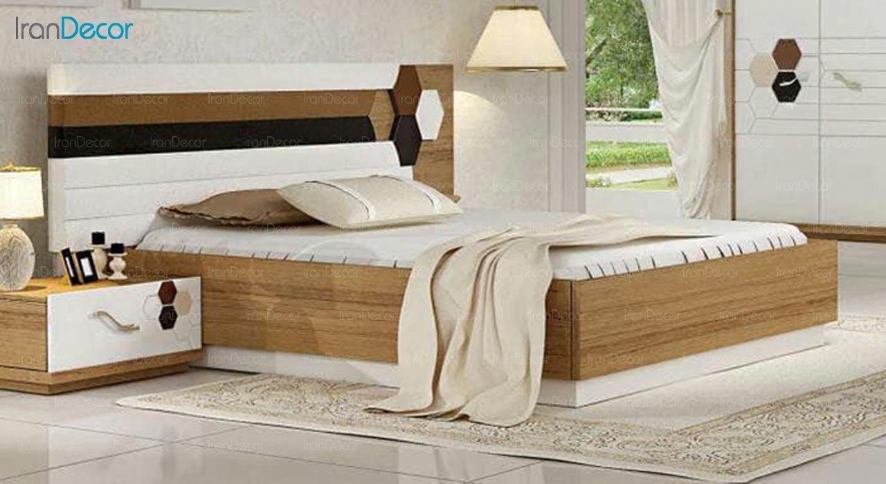 تصویر تخت خواب دو نفره امپریال مدل I152