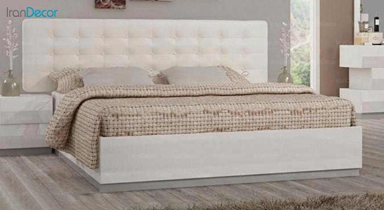 تصویر تخت خواب دو نفره امپریال مدل I153
