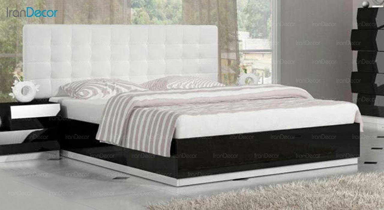 تصویر تخت خواب دو نفره امپریال مدل I154
