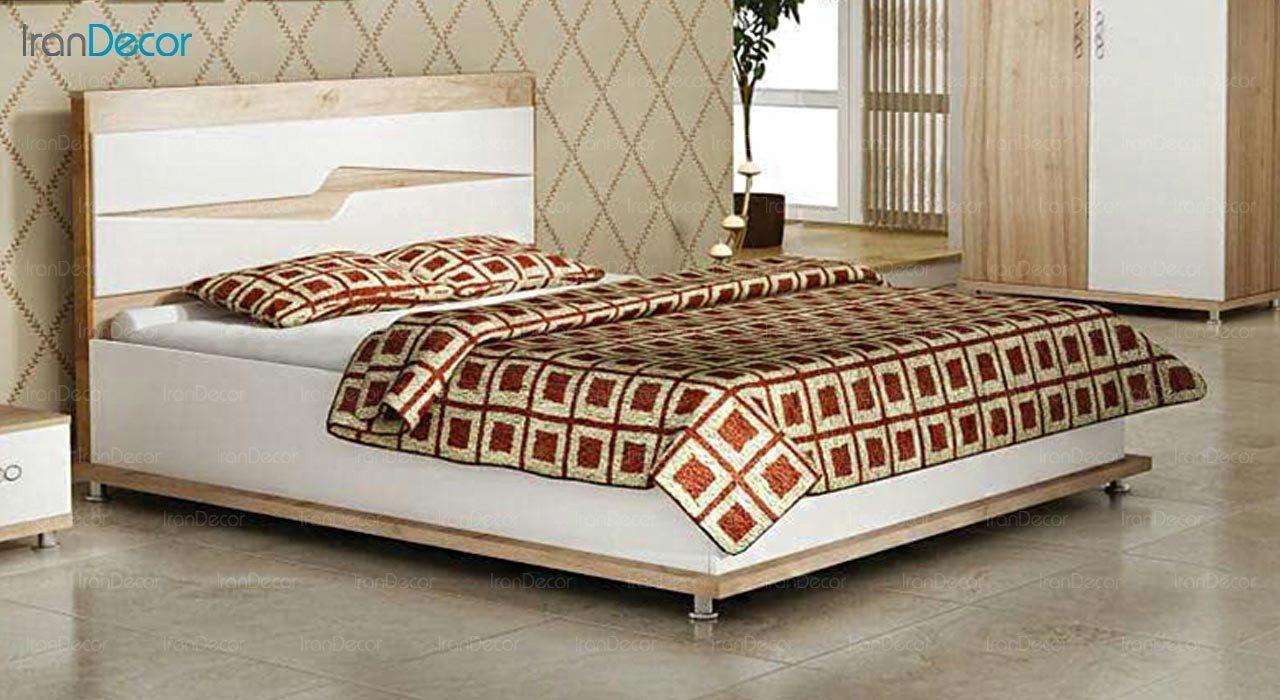 تصویر تخت خواب دو نفره امپریال مدل I155