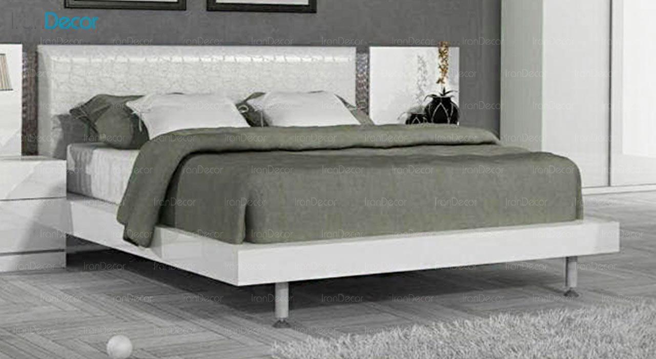 تصویر تخت خواب دو نفره امپریال مدل I158