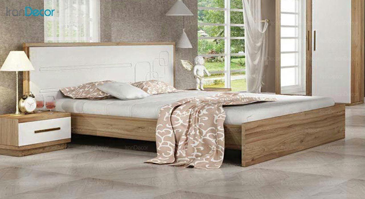 تصویر تخت خواب دو نفره امپریال مدل I159