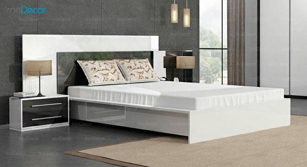 تصویر تخت خواب دو نفره امپریال مدل I160