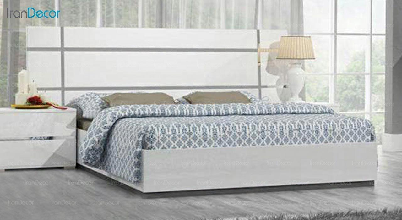 تصویر تخت خواب دو نفره امپریال مدل I164