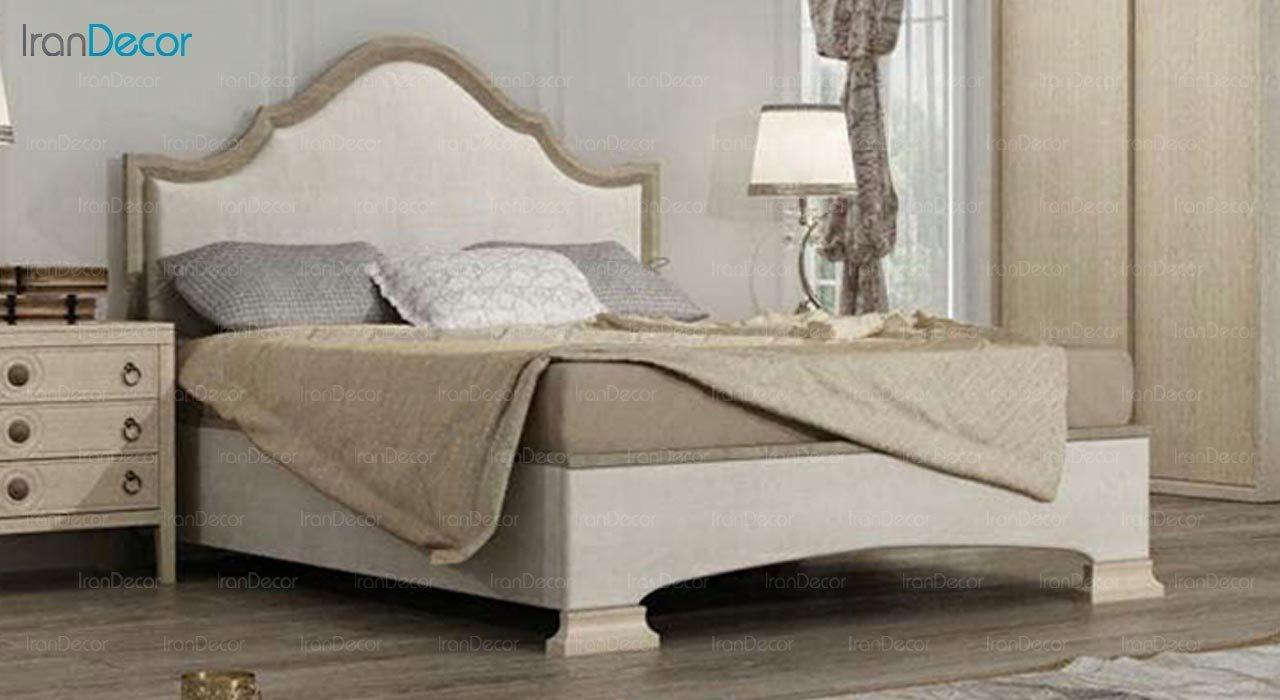 تصویر تخت خواب دو نفره امپریال مدل I165
