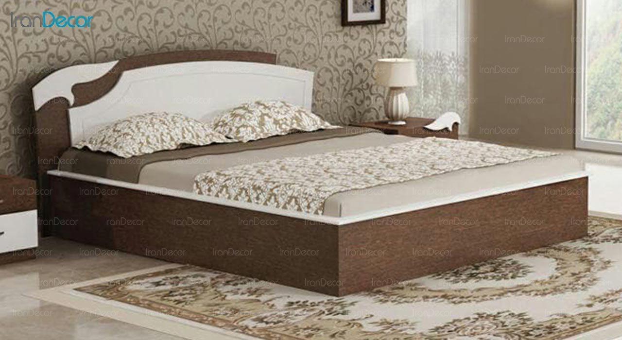 تصویر تخت خواب دو نفره امپریال مدل I166