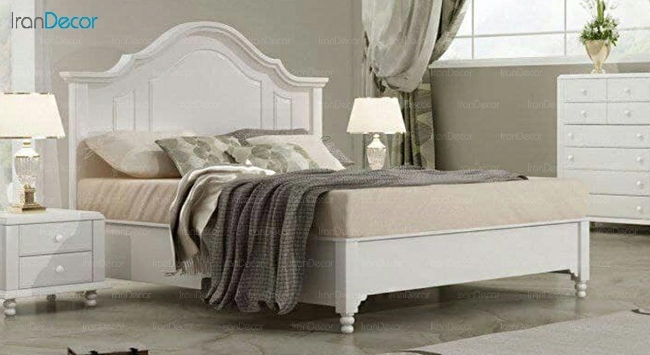 تصویر تخت خواب دو نفره امپریال مدل I169