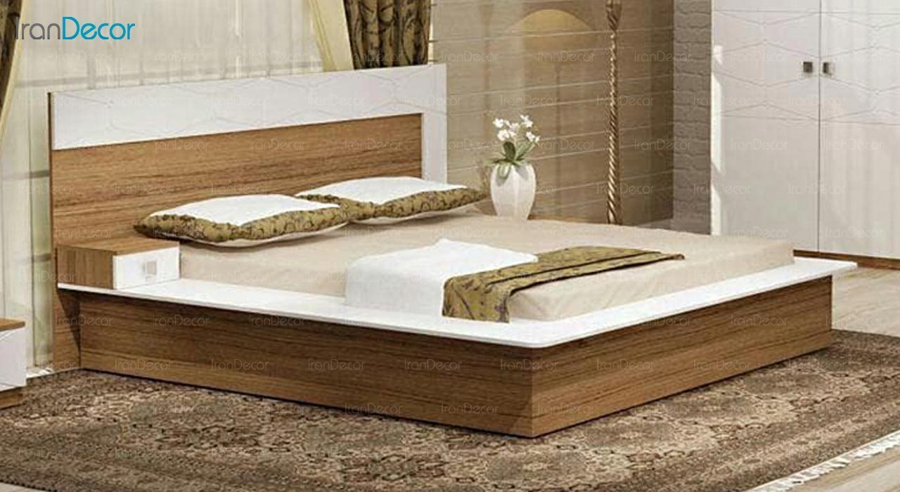 تصویر تخت خواب دو نفره امپریال مدل I171