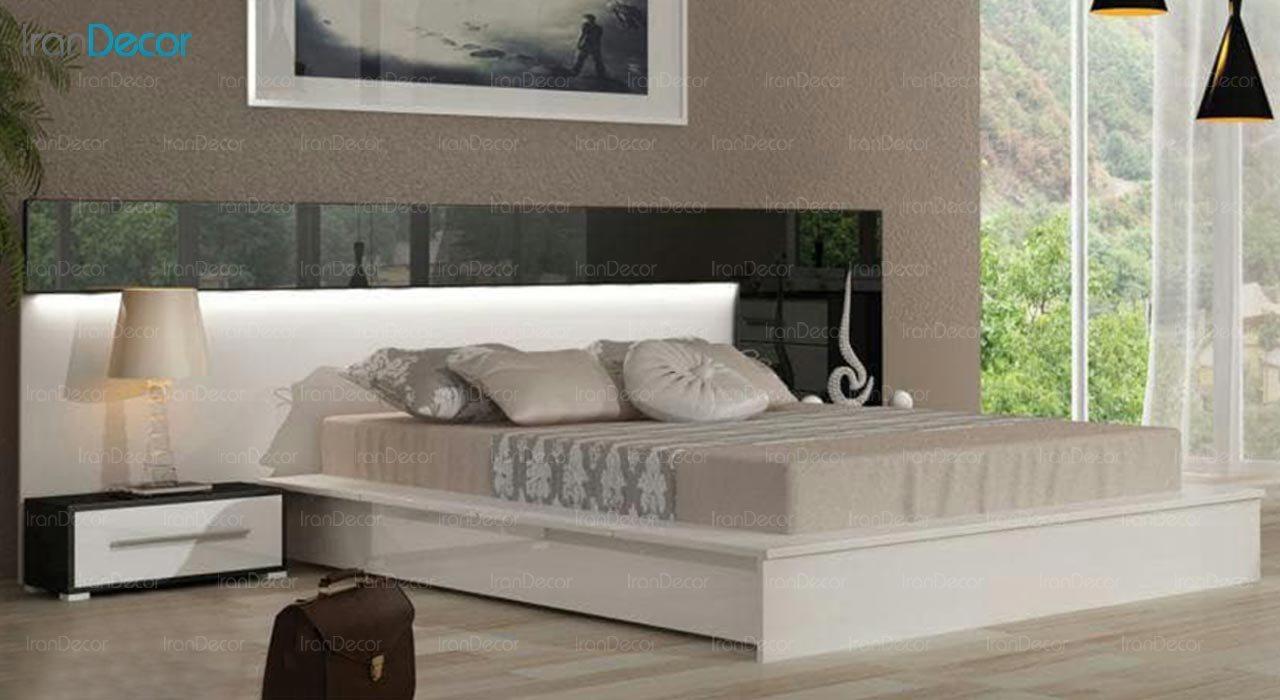 تصویر تخت خواب دو نفره امپریال مدل I172