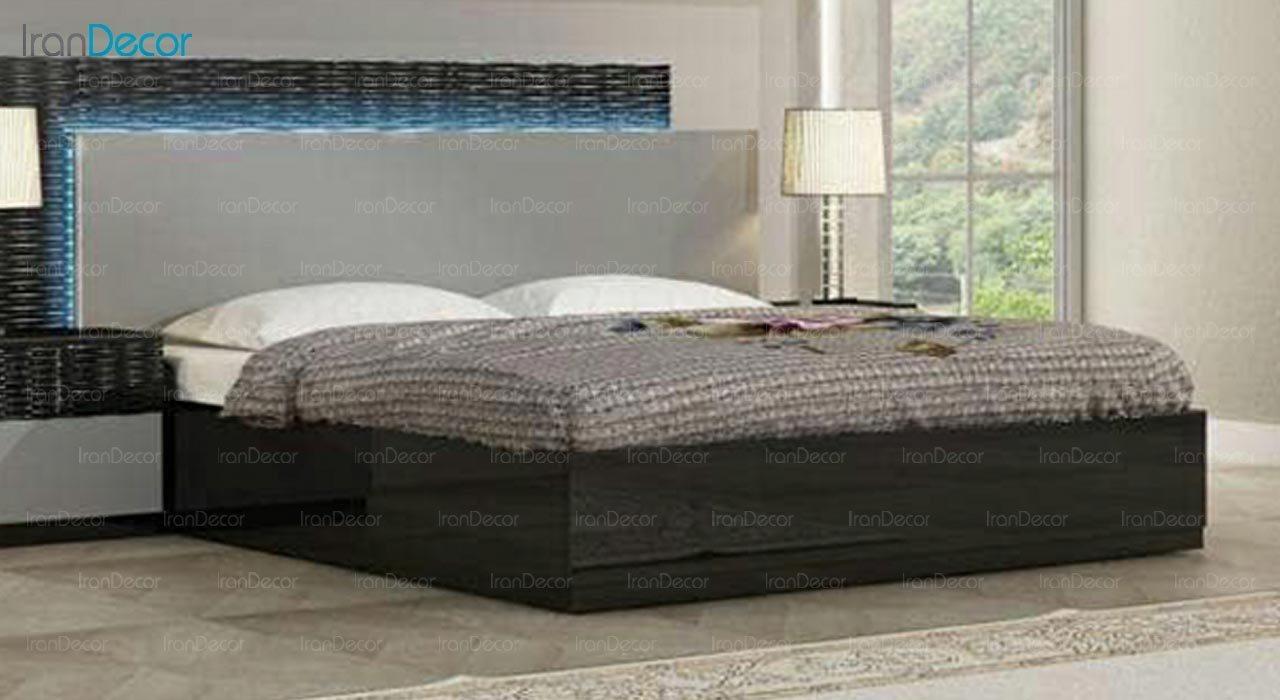 تصویر تخت خواب دو نفره امپریال مدل I173