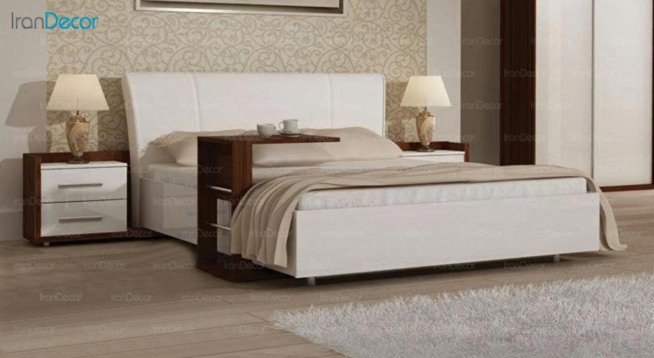 تصویر تخت خواب دو نفره امپریال مدل I174
