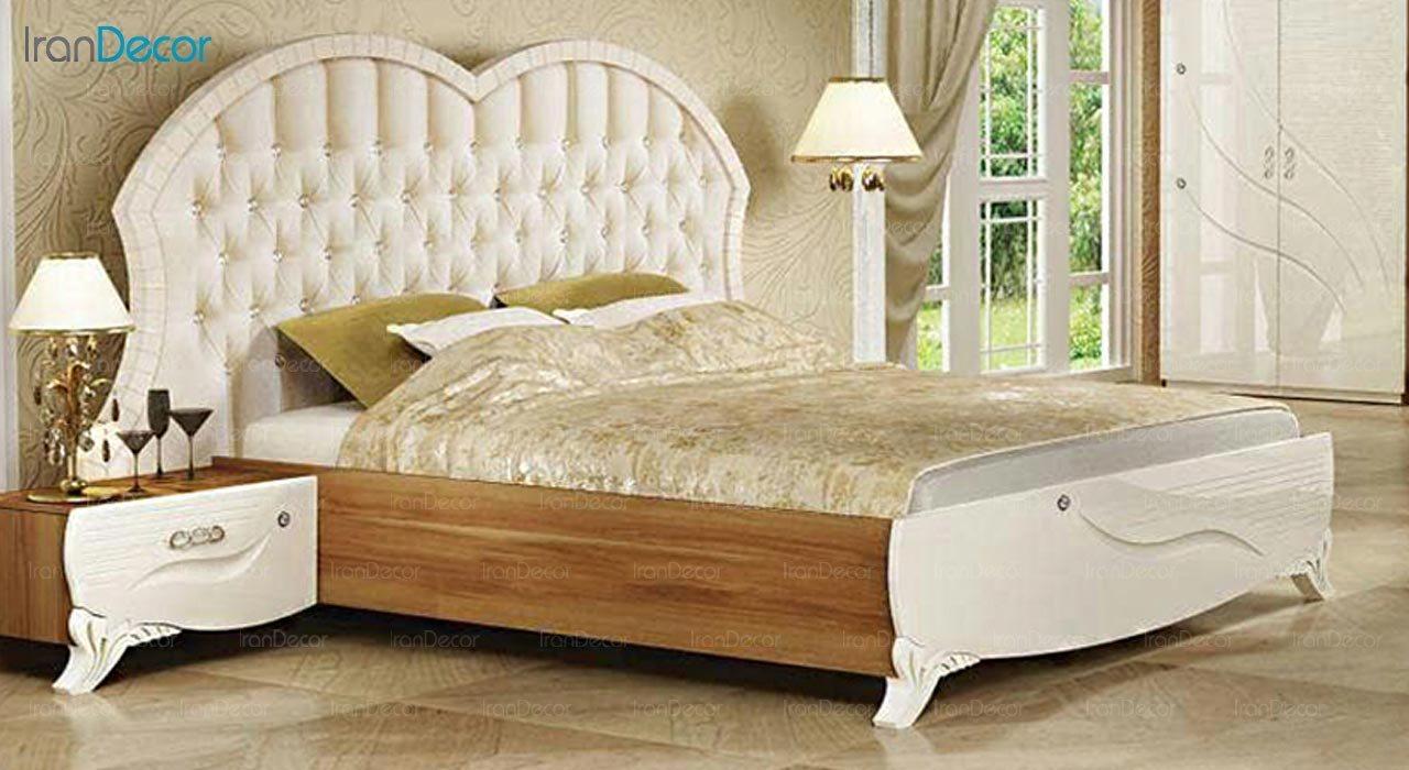 تصویر تخت خواب دو نفره امپریال مدل I176
