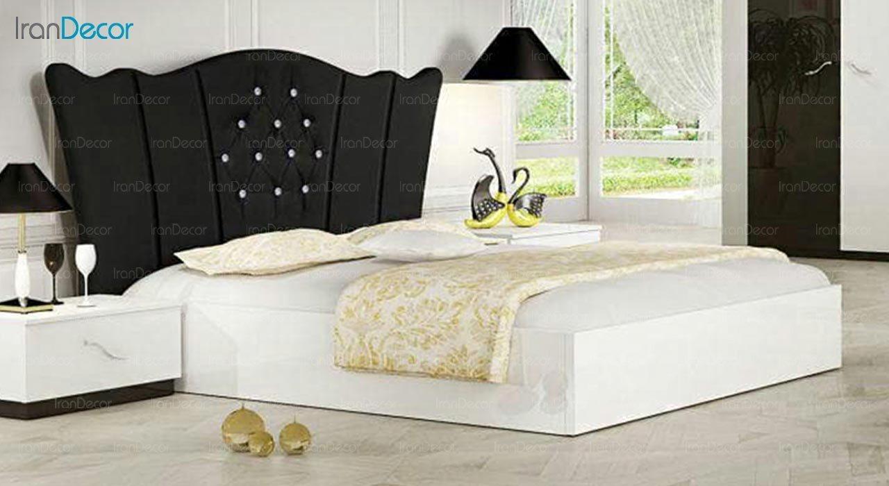 تصویر تخت خواب دو نفره امپریال مدل I177