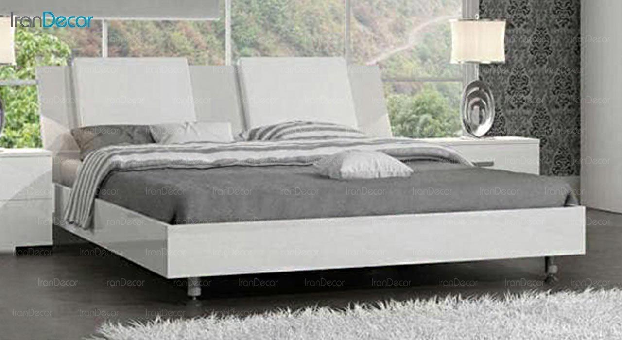 تصویر تخت خواب دو نفره امپریال مدل I178