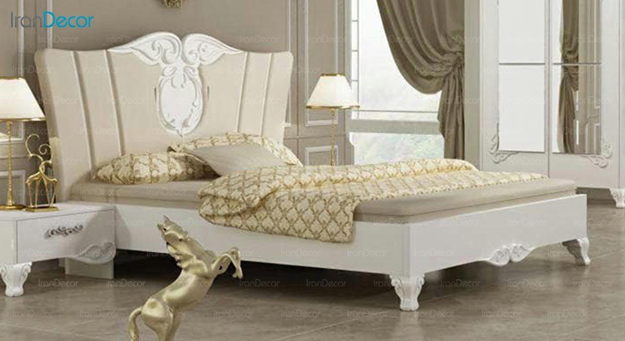 تصویر تخت خواب دو نفره امپریال مدل I182
