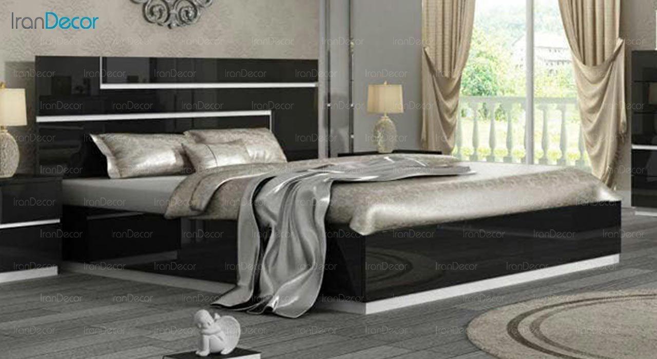 تصویر تخت خواب دو نفره امپریال مدل I183