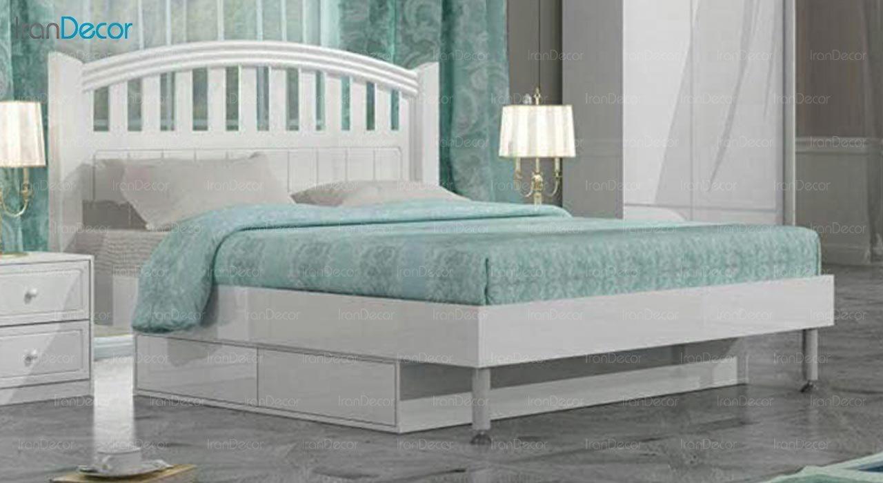 تصویر تخت خواب دو نفره امپریال مدل I184