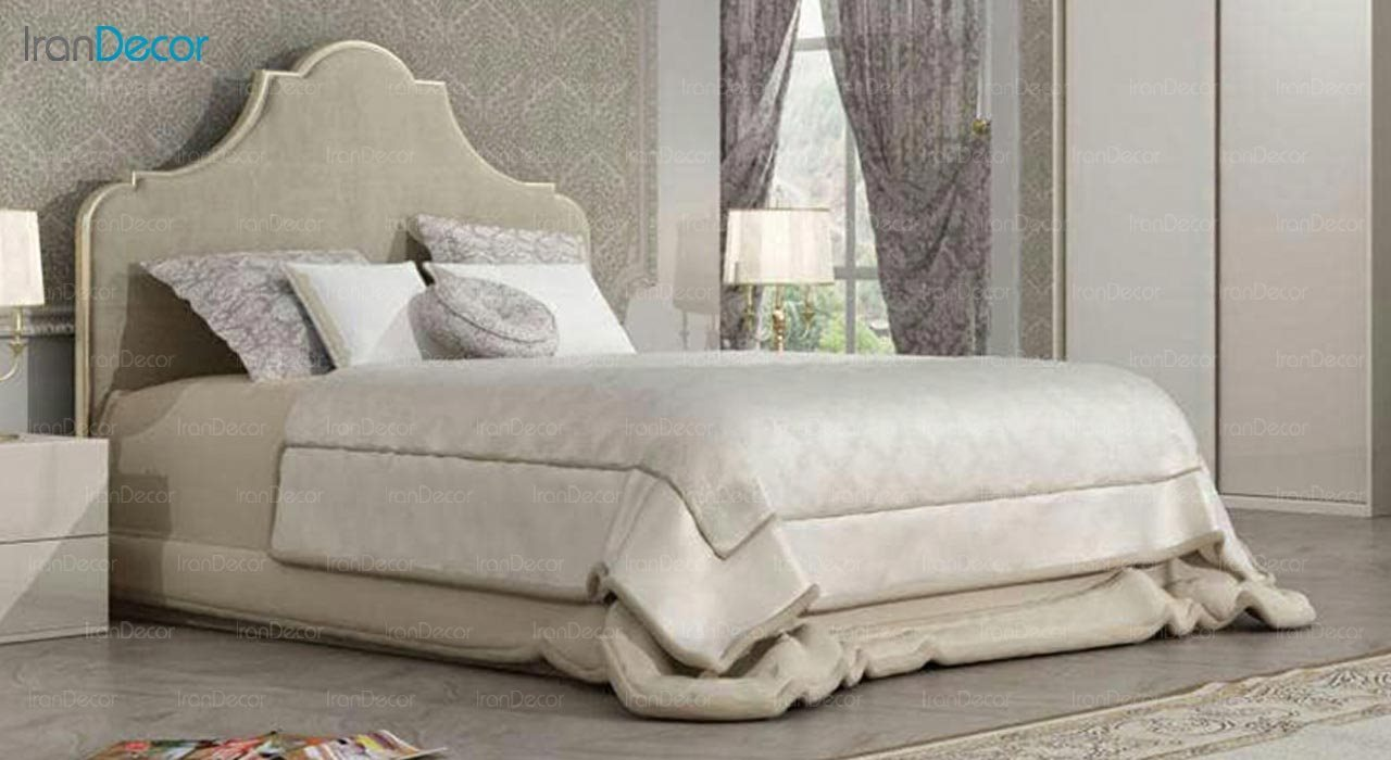 تصویر تخت خواب دو نفره امپریال مدل I187