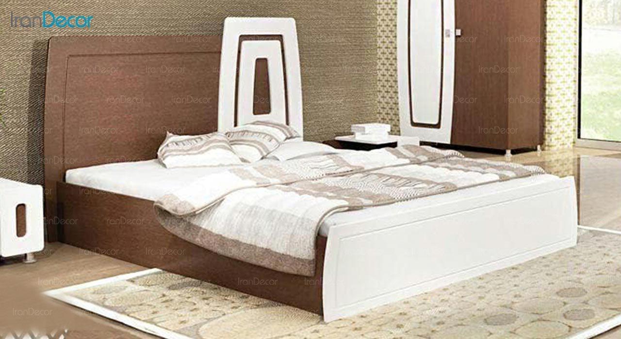 تصویر تخت خواب دو نفره امپریال مدل I189