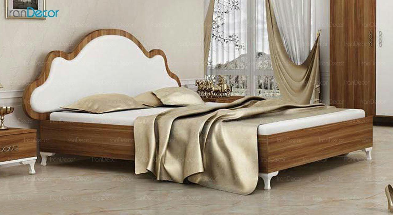 تصویر تخت خواب دو نفره امپریال مدل I199