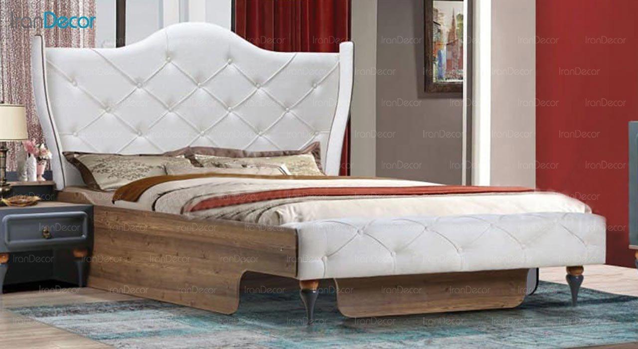 تصویر تخت خواب دو نفره امپریال مدل I201