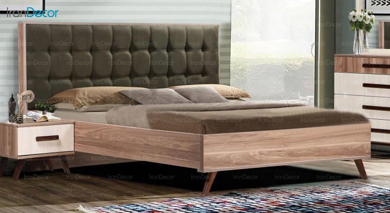 تصویر تخت خواب دو نفره امپریال مدل I202
