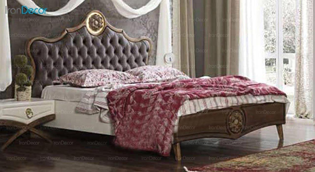 تصویر تخت خواب دو نفره امپریال مدل I203