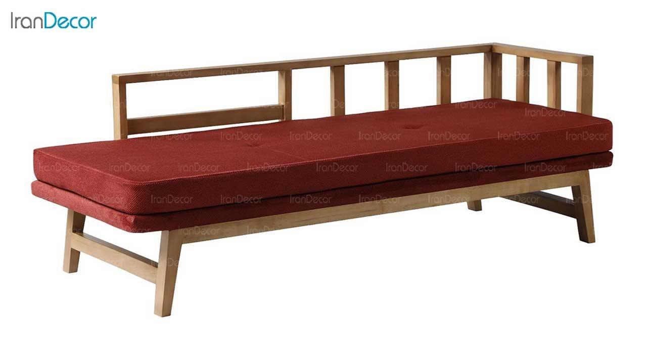 تصویر کاناپه تخت چوبی آفر مدل راگا