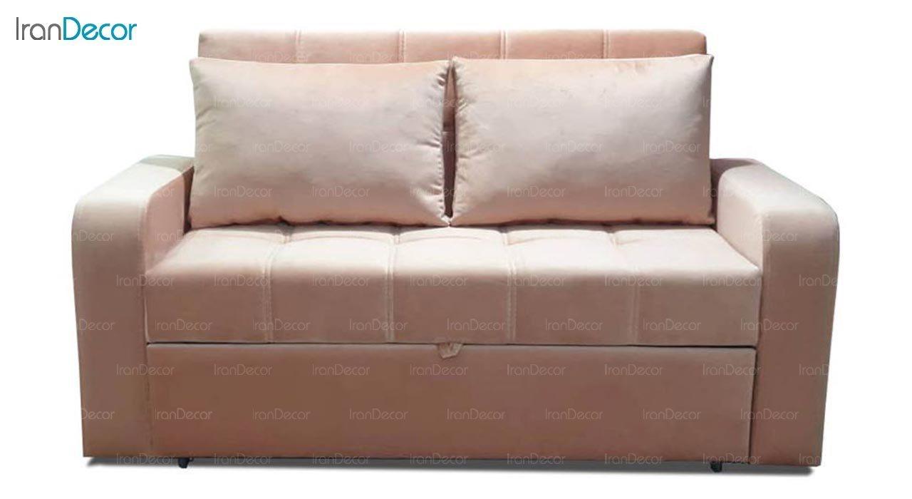 تصویر مبل تختخواب شو دو نفره رویال مدل پرنس