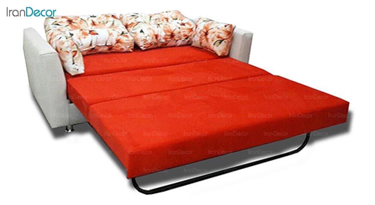 تصویر مبل تختخواب شو دو نفره رویال مدل پریا