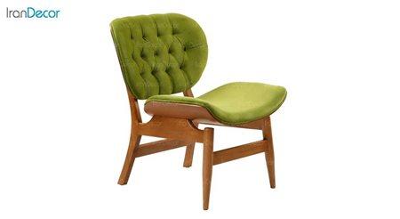تصویر صندلی راحتی آفر مدل مودنا سبز