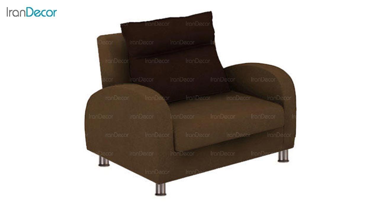 تصویر مبل تختخواب شو یک نفره رویال مدل سون