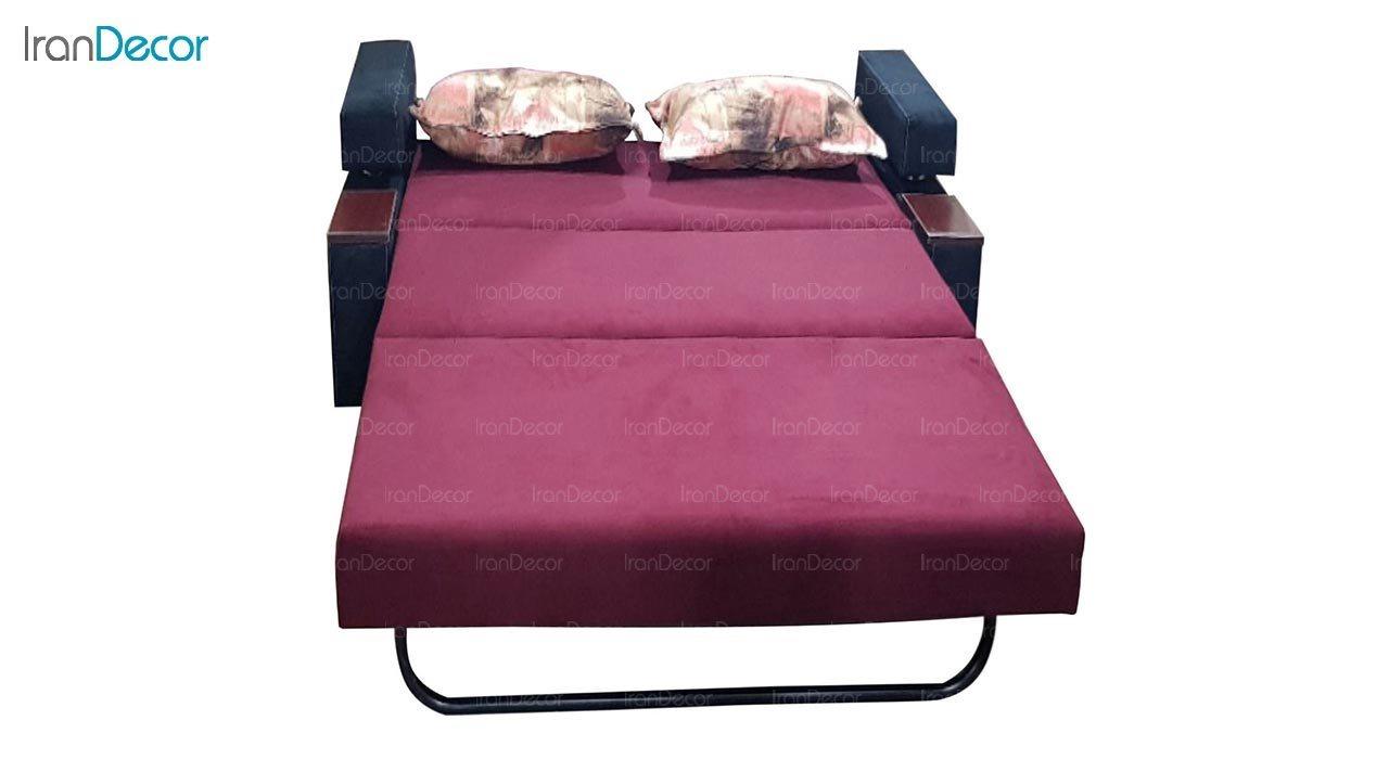 تصویر مبل تختخواب شو دو نفره رویال مدل لاویز