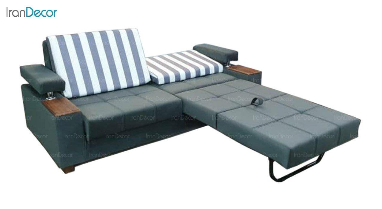 تصویر مبل تختخواب شو دو نفره رویال مدل دوقلو لاویز