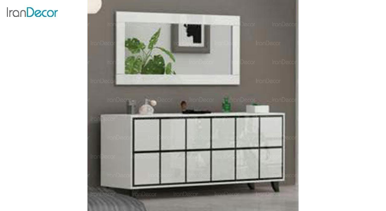 تصویر میز کنسول و آینه مدل I146