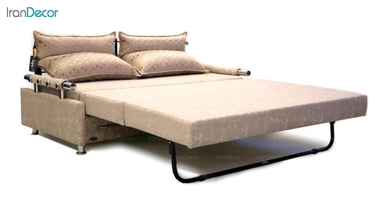 تصویر مبل تختخواب شو دو نفره سیب مدل ویرگوریس