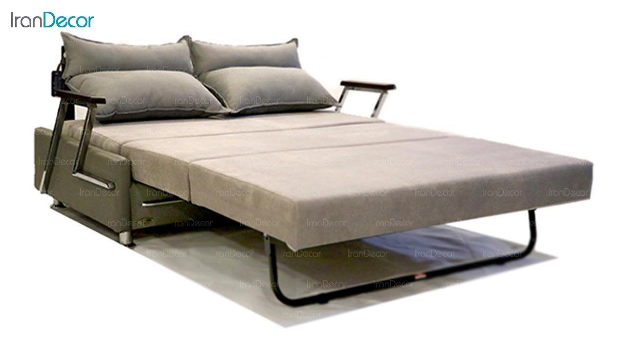 تصویر مبل تختخواب شو دو نفره سیب مدل لیبرا