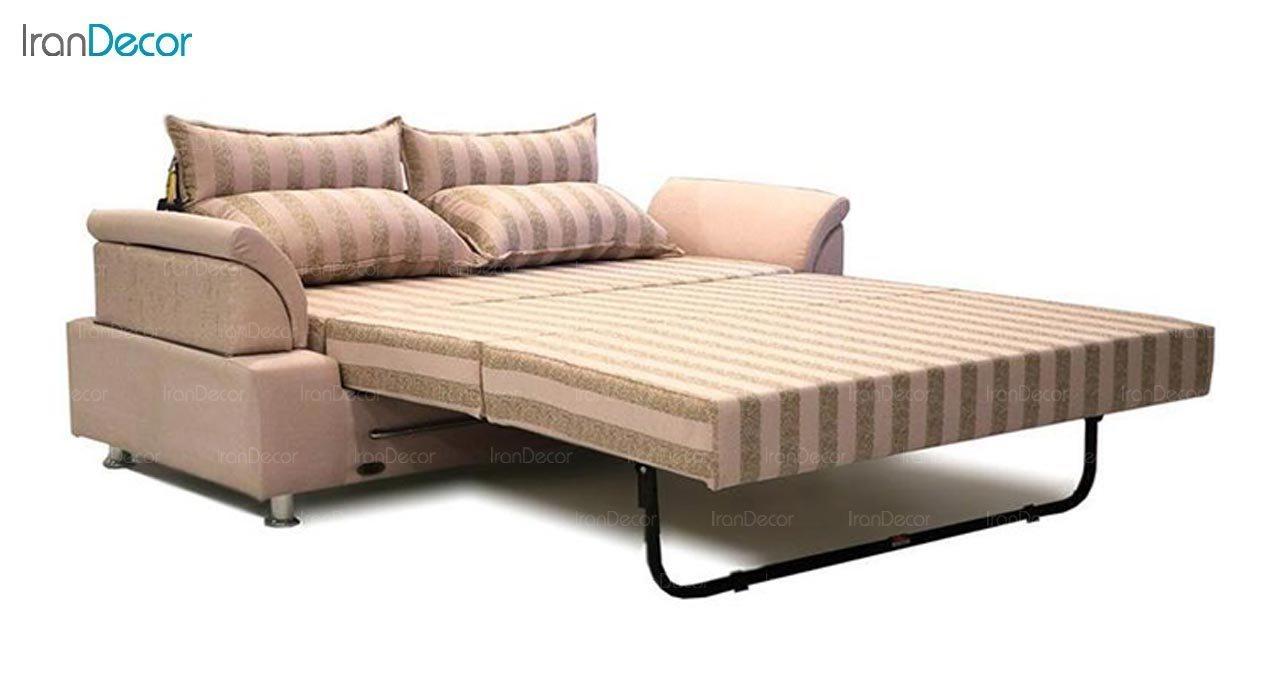 عکس مبل تختخواب شو دو نفره سیب مدل کارن
