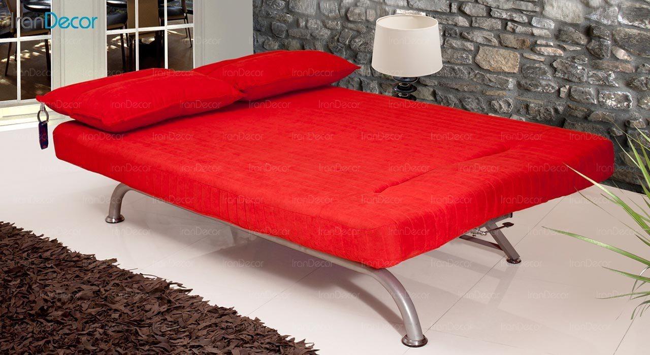 تصویر مبل تختخواب شو دو نفره سیب مدل چیستا