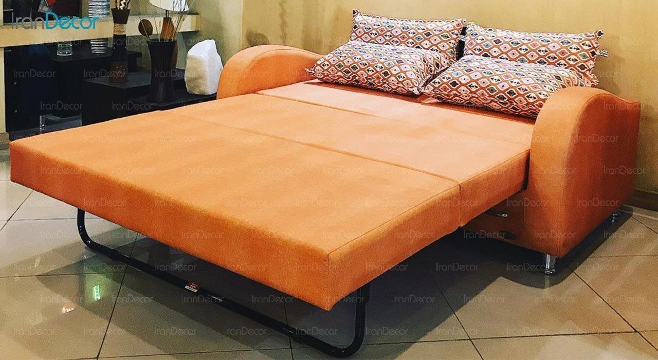 عکس مبل تختخواب شو دو نفره سیب مدل لئو