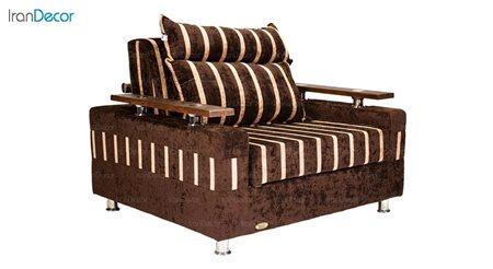 تصویر مبل تختخواب شو مدل اپال از مبلمان سیب