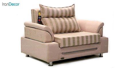 تصویر مبل تختخواب شو مدل کارن از مبلمان سیب