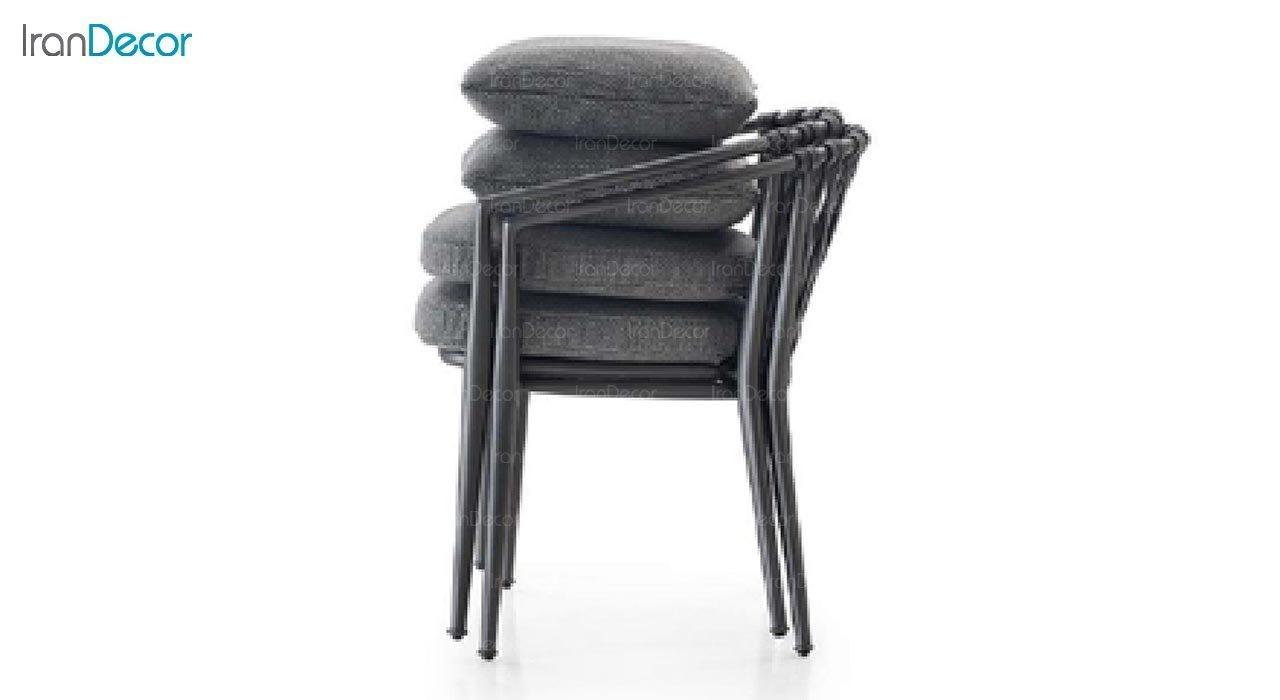 عکس صندلی فلزی صنیع کار مدل باربارا