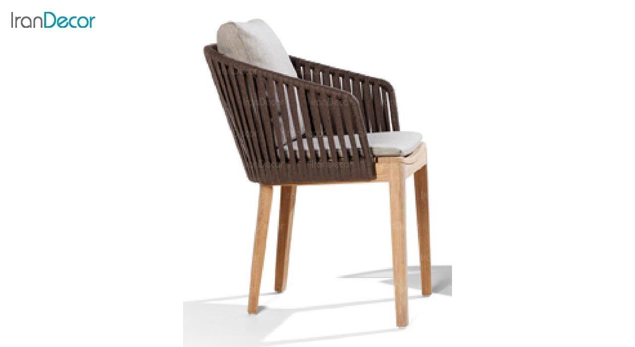 تصویر صندلی پایه چوبی صنیع کار مدل تورینو