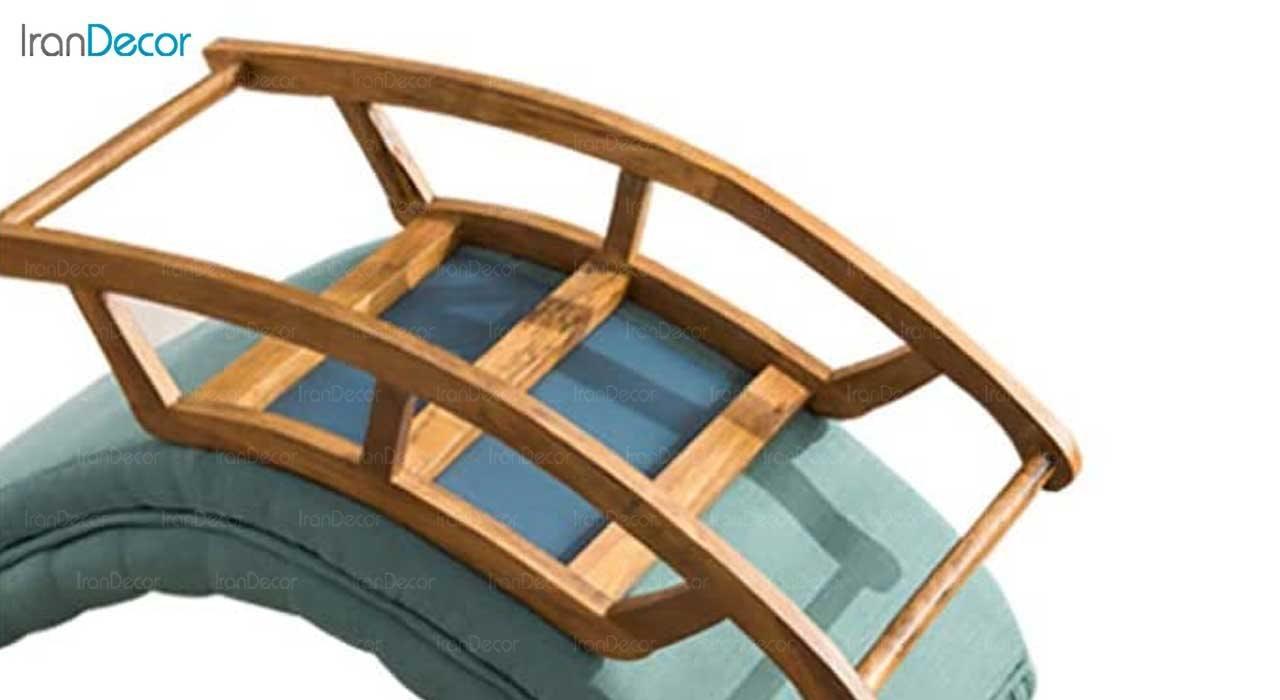 تصویر نمای زیر صندلی راک ریلکسی مدل آرتمیس