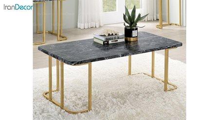 تصویر میز جلو مبلی سنگی مدل کاردانو