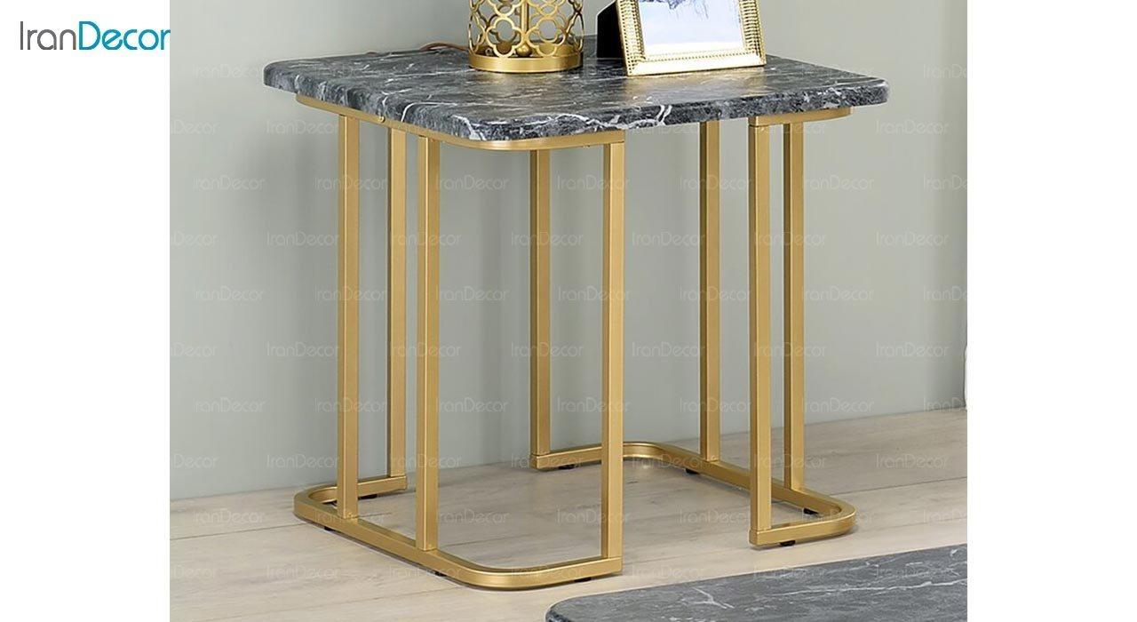 عکس میز عسلی سنگی مدل کاردانو