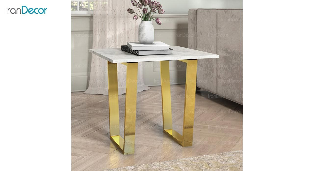 عکس میز عسلی سنگی مدل کارمن