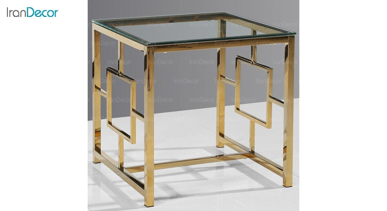 تصویر میز عسلی سنگی مدل وارنر