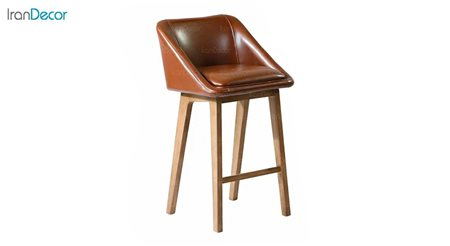 تصویر صندلی اپن پایه چوبی آفر مدل مایا